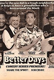 Randall Batinkoff, Randee Heller, Guy Killum, Chip McAllister, Dick O'Neill, and Raphael Sbarge in Better Days (1986)