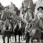 Wayne Burson, Kenne Duncan, Carl Sepulveda, and Henry Wills in The Phantom Rider (1946)