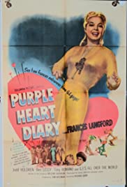 Purple Heart Diary Poster