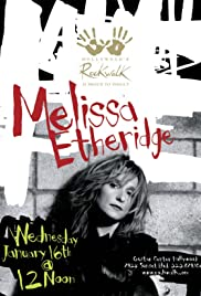 Melissa Etheridge: RockWalk Induction Poster