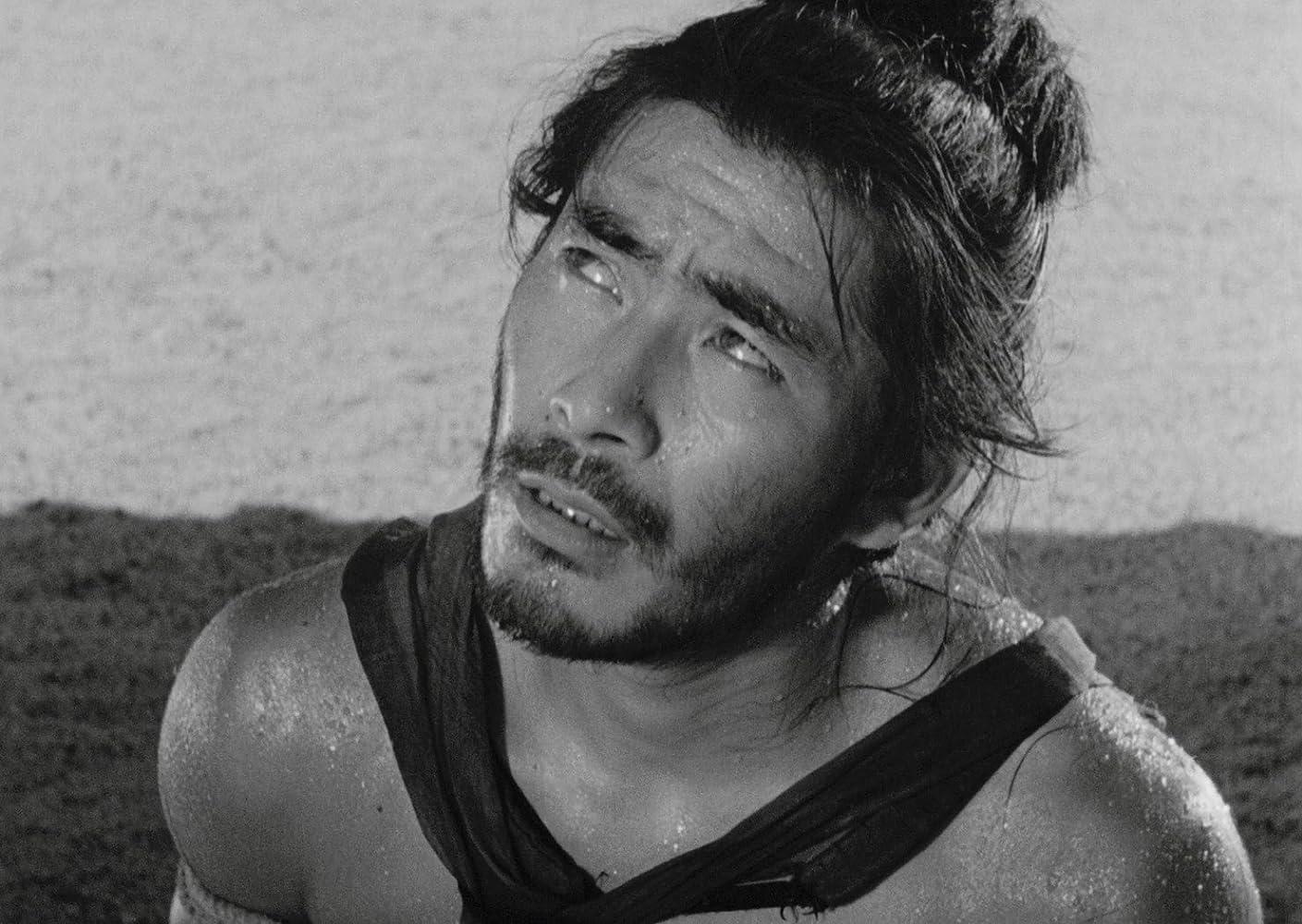 Toshirô Mifune in Rashômon (1950)
