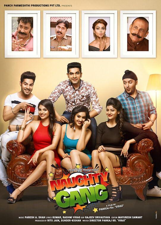 Naughty Gang 2019 Hindi Movie 480p HDRip 400MB Download
