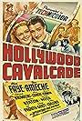 Buster Keaton, Don Ameche, Hank Mann, Eddie Collins, Heinie Conklin, Alan Curtis, Stuart Erwin, Alice Faye, and James Finlayson in Hollywood Cavalcade (1939)