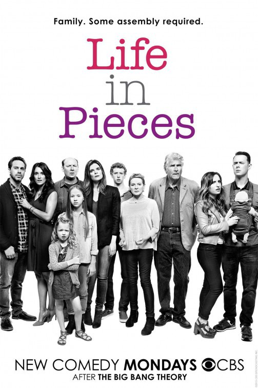 James Brolin, Dianne Wiest, Colin Hanks, Thomas Sadoski, Betsy Brandt, Zoe Lister-Jones, Dan Bakkedahl, Angelique Cabral, Holly J. Barrett, Giselle Eisenberg, and Niall Cunningham in Life in Pieces (2015)
