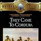 Gary Cooper, Rita Hayworth, Van Heflin, and Tab Hunter in They Came to Cordura (1959)