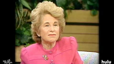 Image result for ask dr ruth documentary