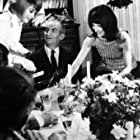 Louis de Funès, Mireille Darc, and Bernadette Lafont in Un grand seigneur: Les bons vivants (1965)