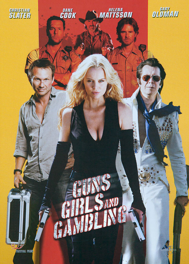 Gary Oldman, Christian Slater, Jeff Fahey, Dane Cook, Sam Trammell, and Helena Mattsson in Guns, Girls and Gambling (2012)
