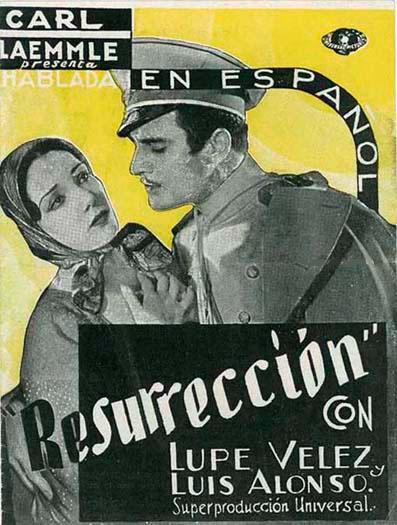 Gilbert Roland and Lupe Velez in Resurrección (1931)