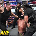 Colby Lopez, Drew Galloway, Jonathan Good, and Joe Anoa'i in WWE Fastlane (2019)