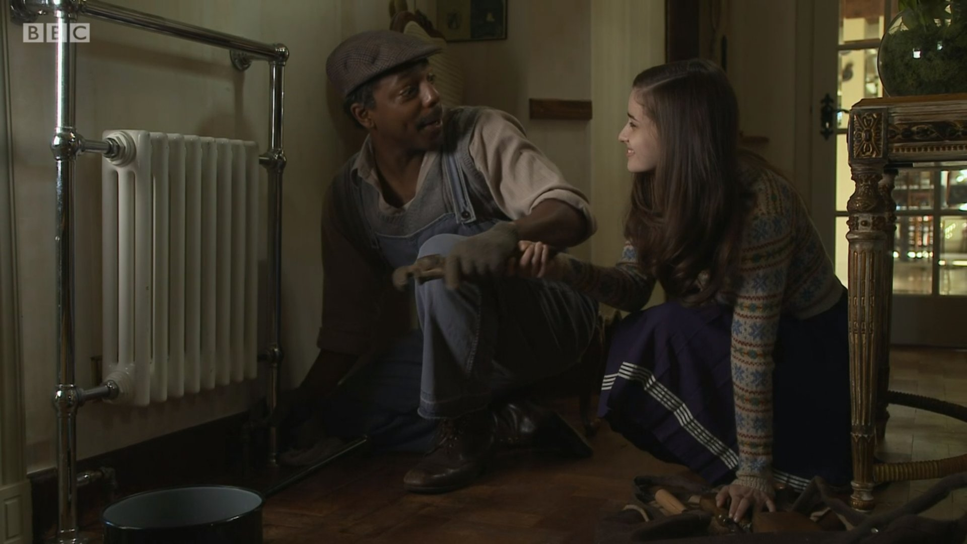 Holly Earl and Don Gilet in Father Brown (2013)