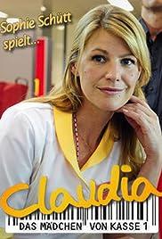 Claudia - Das Mädchen von Kasse 1 Poster