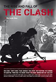 The Rise and Fall of The Clash Poster