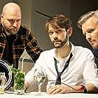 Georgie Daburas, Dustin A. Finerty, and David Mackenzie in The United Guys Network (2016)