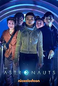 Keith L. Williams, Miya Cech, Bryce Gheisar, Ben Daon, and Kayden Grace Swan in The Astronauts (2020)