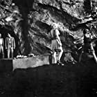 John Agar and Hugh Beaumont in The Mole People (1956)