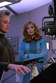 Gates McFadden and Caroline Kava in Star Trek: The Next Generation (1987)