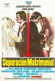 Separación matrimonial Poster