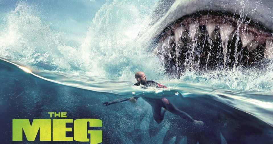 The Meg movie art