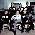 Benjamin Bratt, Dennis Franz, Don Franklin, and James Pax in Nasty Boys (1990)