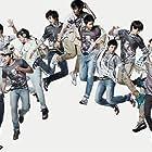 Si Won Choi, Geng Han, Hyuk-jae Lee, Ki-bum Kim, Young-woon Kim, Hee-chul Kim, Dong-hae Lee, Ryeo-wook Kim, Leeteuk, Jong-woon Kim, Dong-hee Shin, Sung-min Lee, Super Junior, and Kyu-hyun Cho in Super Junior: Sorry Sorry (2009)