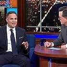 Stephen Colbert and Mark Ruffalo in Mark Ruffalo/Andy Cohen/Thom Yorke (2019)