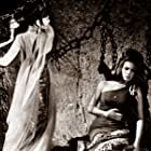 Luciana Gilli and Claudia Mori in Ursus nella terra di fuoco (1963)