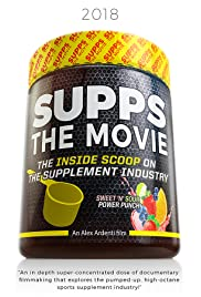 SUPPS: The Movie Poster