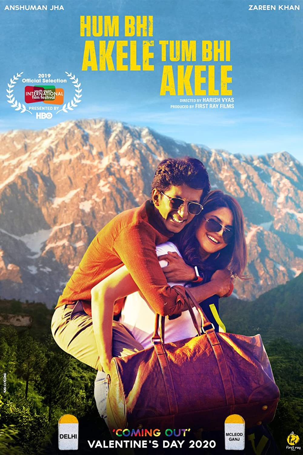 Hum Bhi Akele Tum Bhi Akele 2021 Hindi 402MB HDRip ESub Download