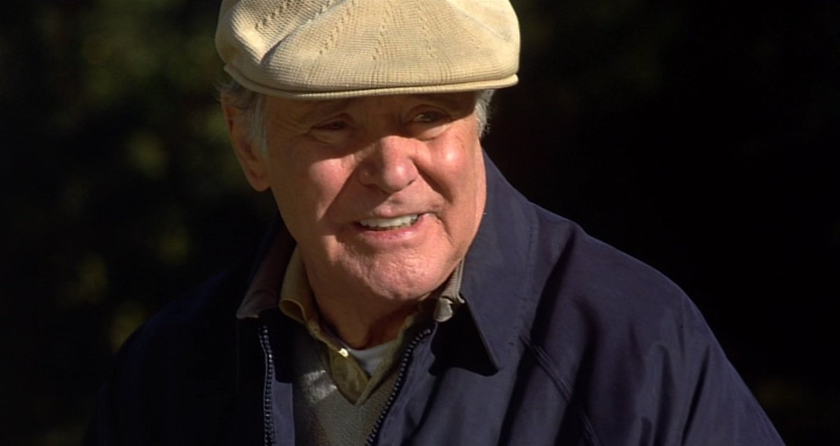 Jack Lemmon in The Legend of Bagger Vance 2000