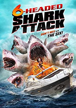 6-Headed Shark Attack Poster
