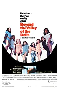 Edy Williams, Phyllis Davis, Veronica Ericson, Erica Gavin, Haji, Marcia McBroom, Cynthia Myers, Angel Ray, Dolly Read, and Lavelle Roby in Beyond the Valley of the Dolls (1970)
