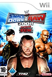 WWE SmackDown vs. RAW 2008 (2007) Poster - Movie Forum, Cast, Reviews