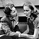 Agnes Moorehead and Eleanor Parker in Caged (1950)
