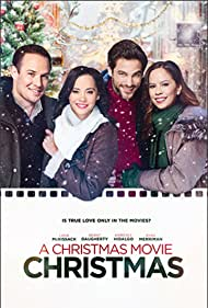 Lana McKissack, Ryan Merriman, Brant Daugherty, and Kimberly Daugherty in A Christmas Movie Christmas (2019)