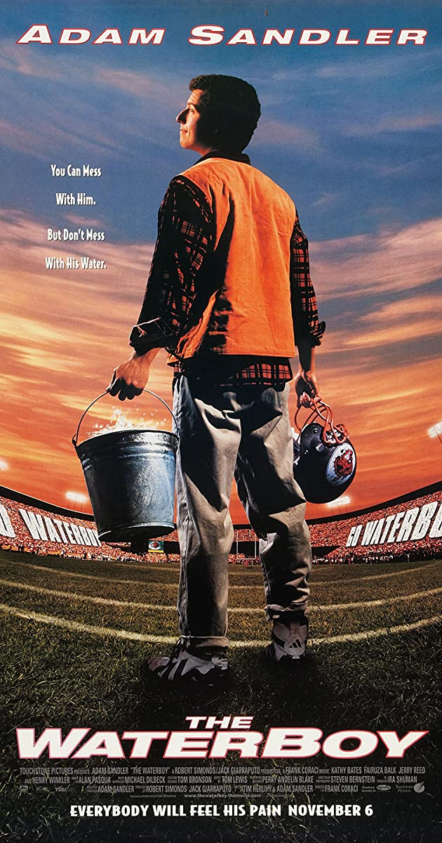 Subtitle of The Waterboy