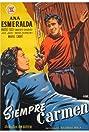 Carmen proibita (1953) Poster