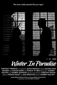 Malissa Cruz Romero and Conor Marsh in Winter in Paradise (2020)
