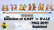 Evolution of Chip 'N Dale (1943-2019)