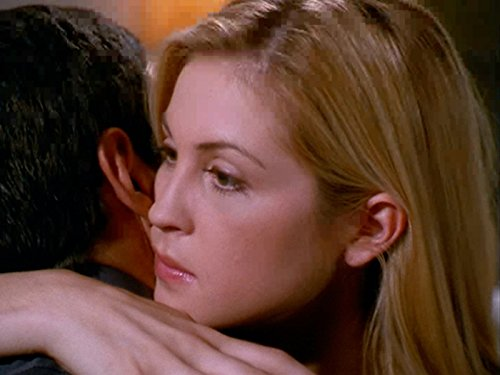 Kelly Rutherford and Thomas Calabro in Melrose Place (1992)