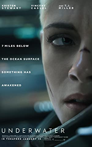 Underwater (2020) 720p HDRip Hollywood Movie 800MB