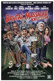 Gerry Bednob, Ken Foree, Gunnar Hansen, David Naughton, Brian O'Halloran, and Ellen Sandweiss in Brutal Massacre: A Comedy (2007)