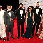 Ali Suliman, Maisa Abd Elhadi, Rakeen Saad, Samer Ismail, Mohammed Mostafa, and Mahmoud Al Atrash at an event for The Worthy (2016)