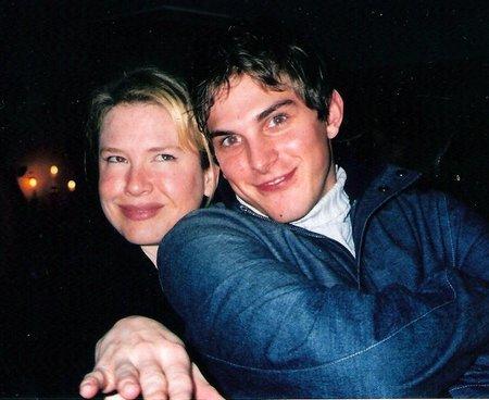 Renée Zellweger and Paul Becker