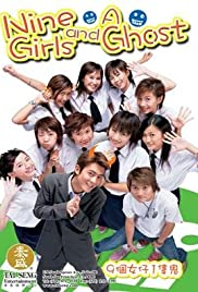 Nine Girls and a Ghost Poster