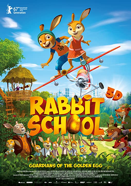 Rabbit School: Guardians of the Golden Egg (2017) Hindi Dubbed