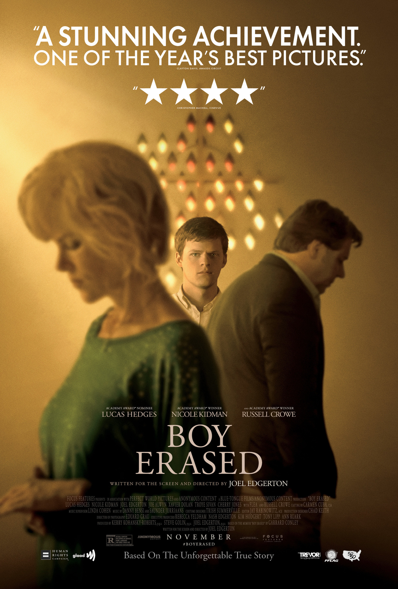 Image result for boy erased poster movie