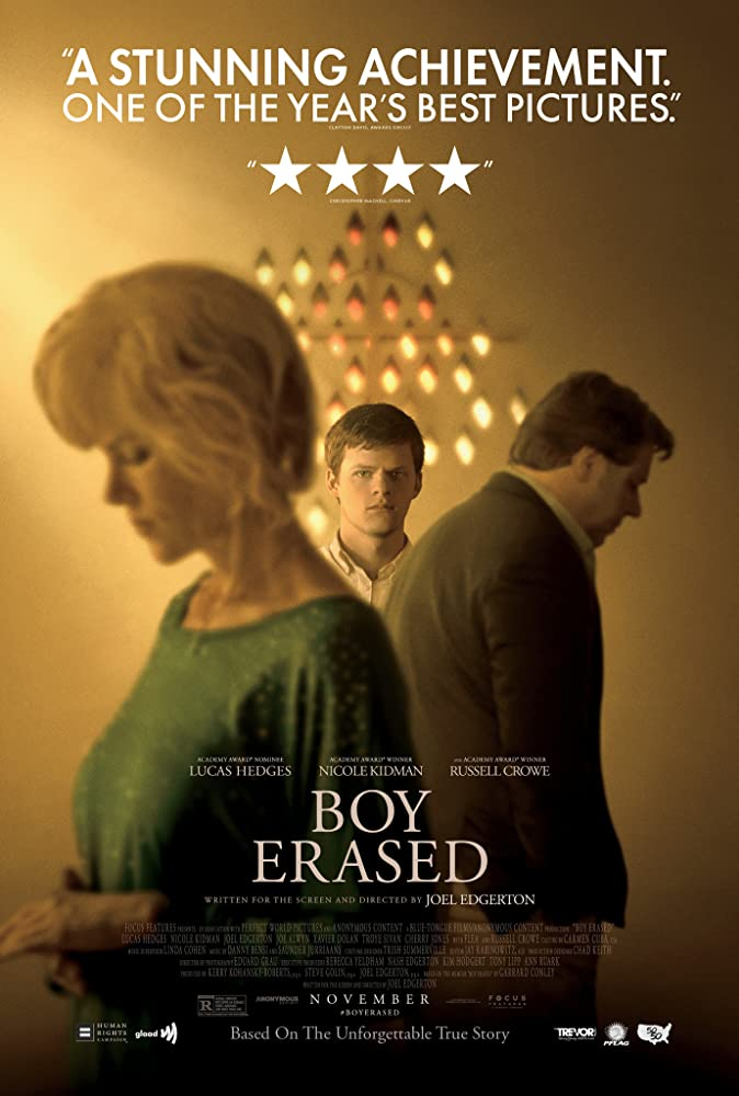 Boy Erased 2018 Hindi ORG Dual Audio 720p BluRay ESub 800MB x264 AAC