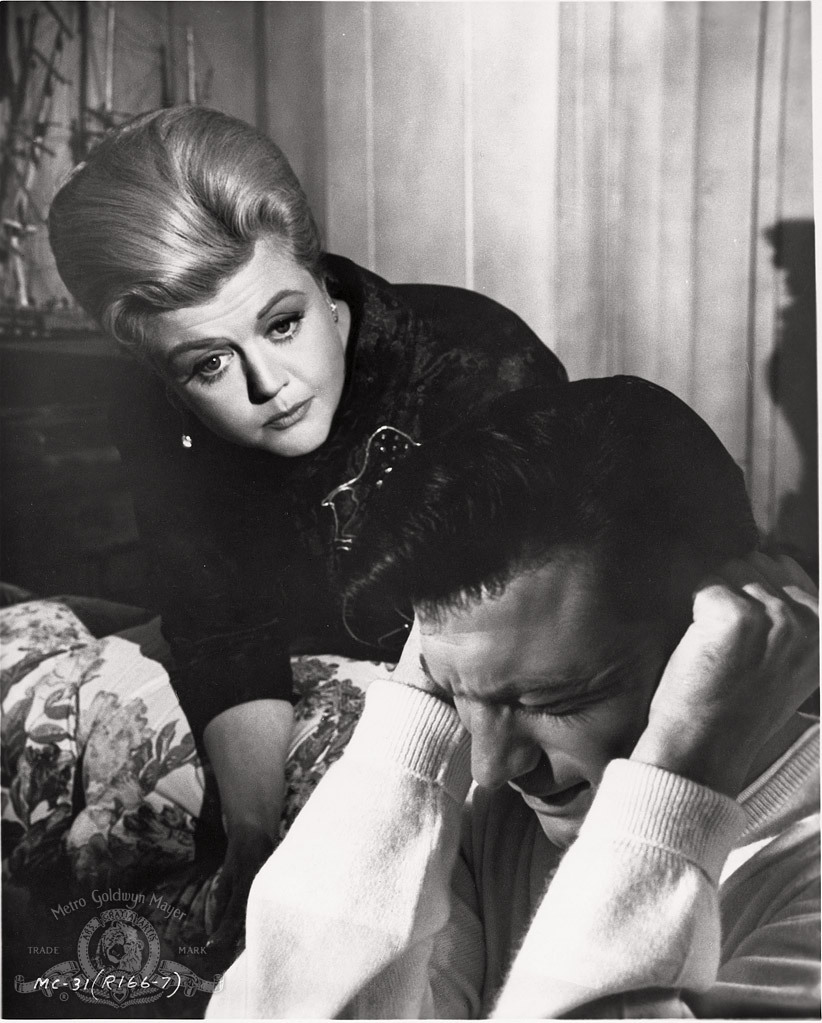 Angela Lansbury and Laurence Harvey in The Manchurian Candidate (1962)