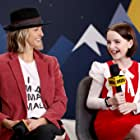Bertie and Mckenna Grace at an event for Troop Zero (2019)